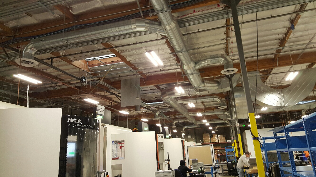 Flextronics Air Distribution San Jose Commercial Hvac